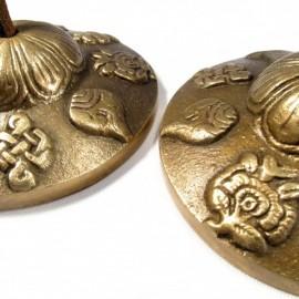 MANJIRA TIBETAN CROTALES (various sizes)