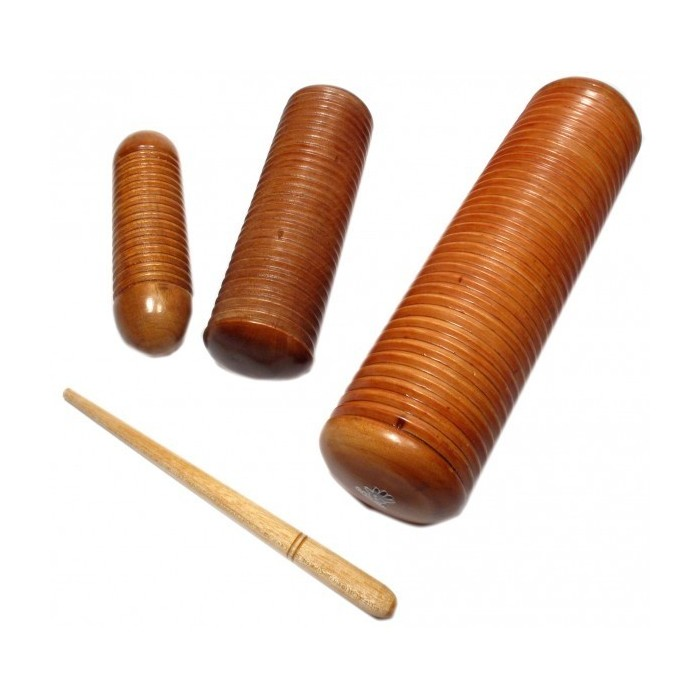 SMALL WOOD GUIRO SHAKER (various sizes)