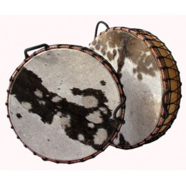 DOUBLE DRUM SKIN SHAMANIC 24""