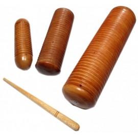 SMALL WOOD GUIRO SHAKER (various sizes)