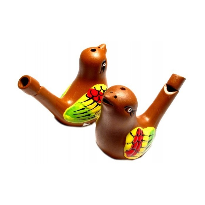 CLAY BIRD WHISTLE